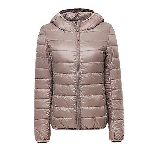 Capuche Parka Jacket Zip Manteau Veston Blouson Hiver Hoodie Long Femme Kaki Élegant Doudoune Uni Veste Coat À Nibesser Chaud wqCxZvtpw
