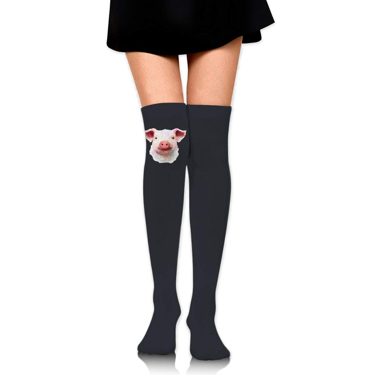 Funny Pig Long Tight Thigh High Socks Over The Knee High Boot Stockings Leg Warmers