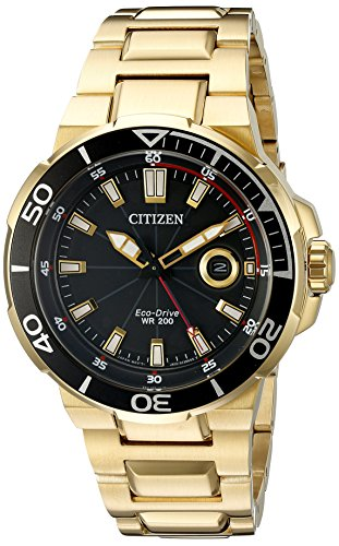 Citizen-Eco-Drive-Mens-AW1422-50E-Endeavor-Gold-Watch