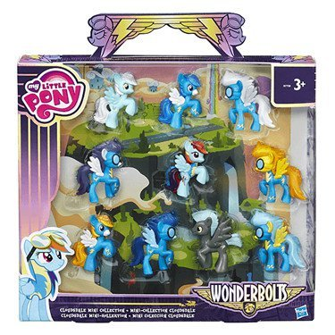 My Little Pony Friendship is Magic Wonderbolts Cloudsdale Mini Collection Exclusive 3 Mini Figure -