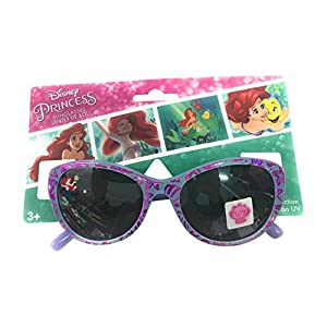 Disney Princess My little mermaid Ariel Purple Glory Girls Sunglasses 100% UVA & UVB Protection