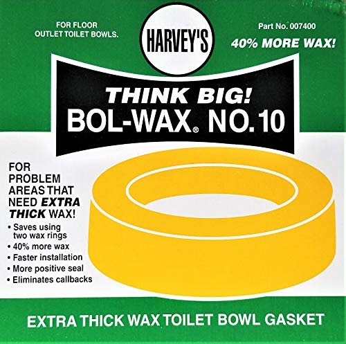(Extra Thick Wax Toilet Bowl Gasket Part No.007400)