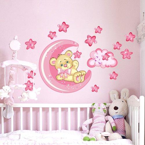 Adesivi per pareti camerette adesivi murali per bambini - Fondo rasante per piastrelle murali ...