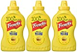French s Classic Yellow Squeeze Bottle Mustard 14 Oz (pack of 3)