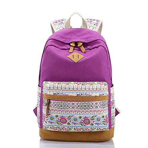 Alotpower Stylish Backpacks Schoolbag Rucksack