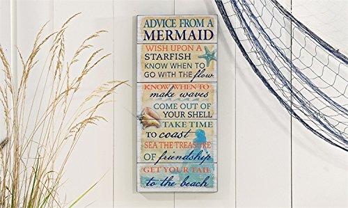 Mermaid Wall Plaque - 7