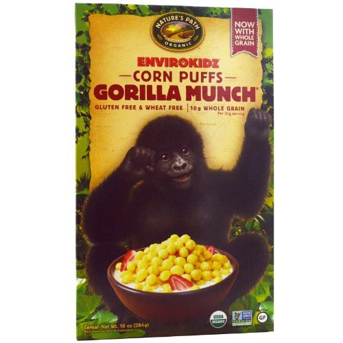 Gorilla Munch Cereal, 10 oz (284 g) by Nature's Path ()