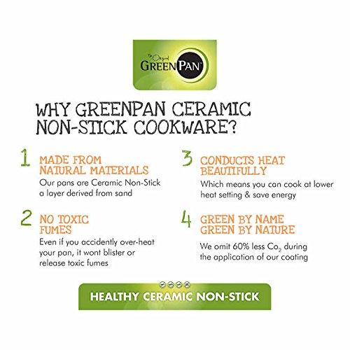Amazon.com: GreenPan Easy To Clean Thermolon Professional Ceramic Non-Stick 2-pc Frypan Set: Kitchen & Dining