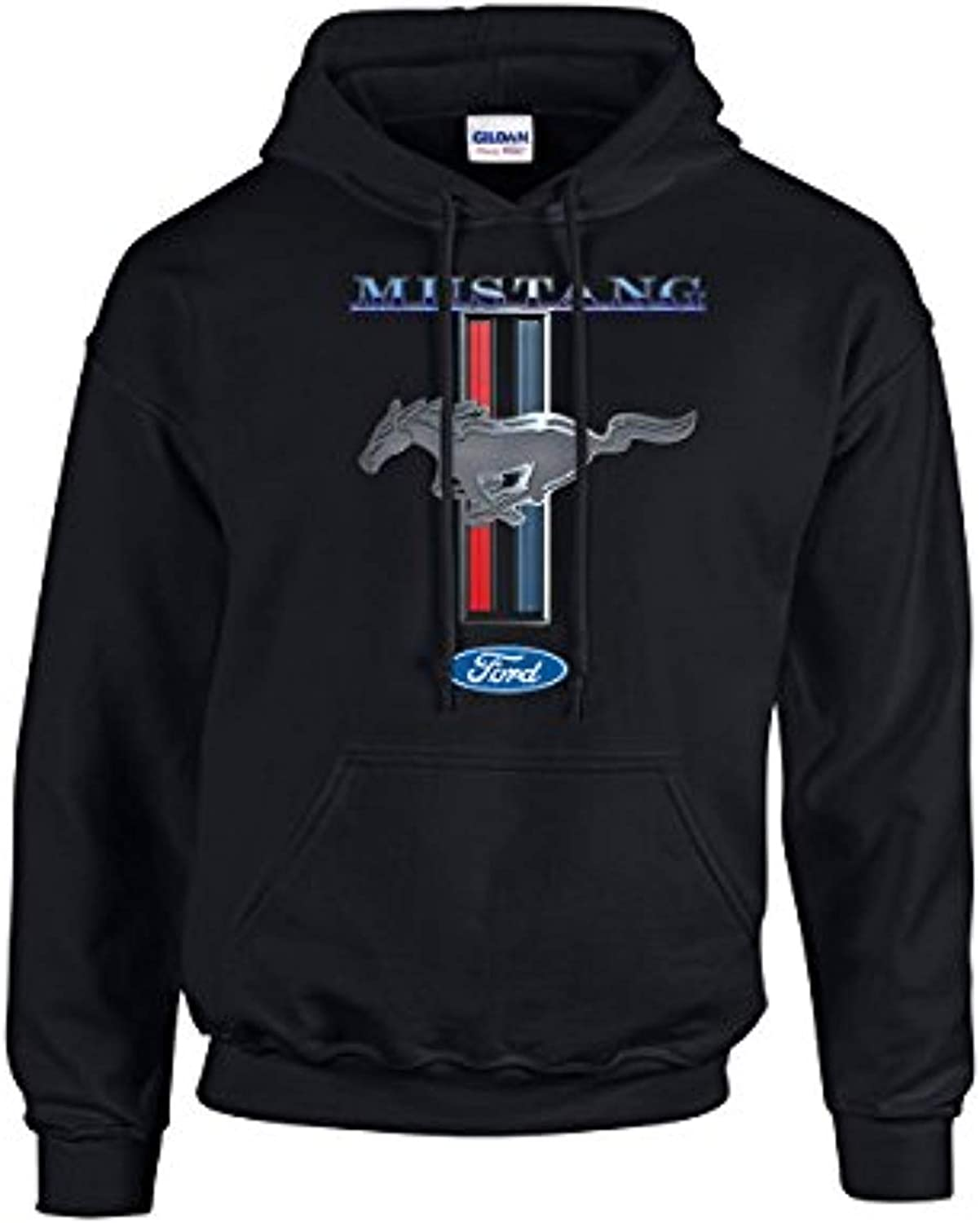 Ford Mustang Hooded Sweatshirt Mustang Pony Design