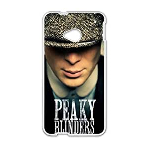 Peaky Blinders Thomas Shelby HTC One M7 Cell Phone Case White toy pxf005_5731080