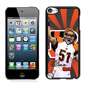 NFL&Cincinnati Bengals Dan Skuta ipod Touch 5 phone cases&Gift Holiday&Christmas Gifts PHNK623980