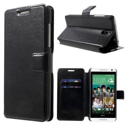 del teléfono móvil Business Case HTC Desire 610 Cubierta Un caja del del tirón del teléfono celular Negro