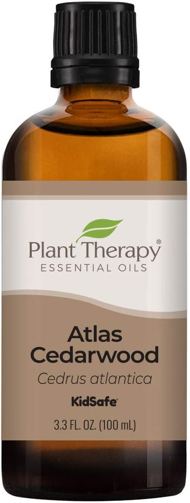 Plant Therapy Atlas Cedarwood Essential Oil 100 mL (3.3 oz) 100% Pure, Undiluted, Therapeutic Grade
