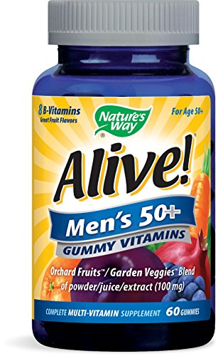 Nature's Way Alive Men's 50 Plus Gummy Vitamins