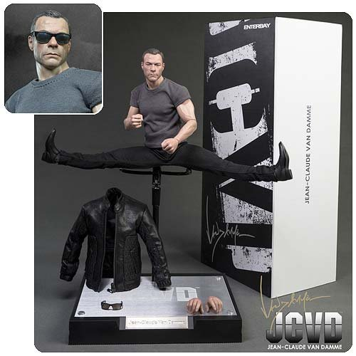 (RM-1043) Real Masterpiece: Jean-Claude Van Damme 1/6 scale collectible - Sunglasses Scale 1/6