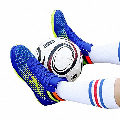 Blue Ben Soccer Boots 33 Football Shoes Cleat TF Kids Cool Sports 46 Boys Adults EUR Football ZwZxUqr