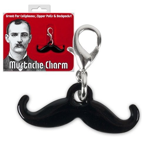 Mini Handlebar Mustache Mustache Charm-Backpack Cellphone Personalization