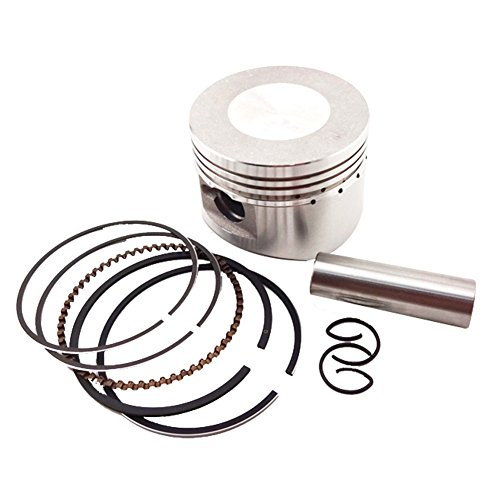 TC-Motor 52mm 13mm Piston Pin Ring Set Kit For Chinese Lifan 110cc Engine 4 Wheeler Motorcycle Pit Dirt Trail Motor Bike ATV Quad (Piston Set Pin)