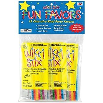 Wikki Stix Party Favor Pak, Pack of 15 Molding & Sculpting Sticks