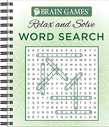 Brain Games - Relax and Solve: Word Search -
