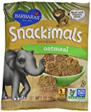 Barbara's Bakery Organic Oatmeal Snackimals - 1 oz - 6 pk