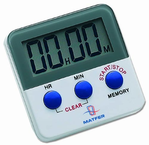 Matfer Bourgeat 250601 Digital Timer with Magnet Back and...