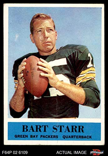 - 1964 Philadelphia # 79 Bart Starr Green Bay Packers (Football Card) Dean's Cards 2 - GOOD Packers