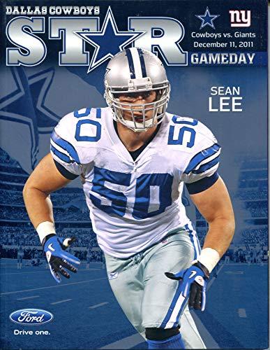 - Dallas Cowboys vs New York Giants STAR Gameday Program December 11, 2011 Sean Lee