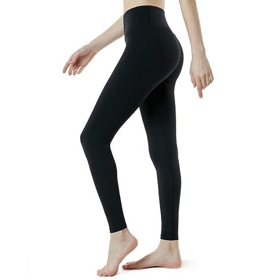 Damen Leggings Streifen Stretch Slim Sport Fitness Leggins Neon Hose Treggings