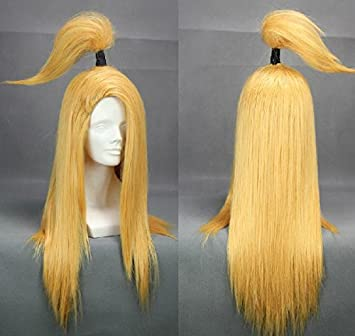 Sunny-business Anime Naruto Long Deidara Yellow of Cosplay Wig