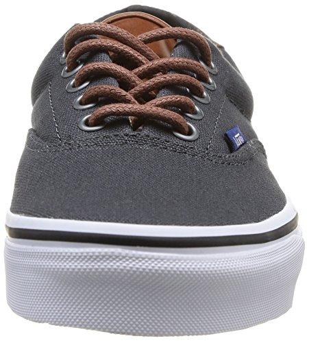 59 Niedrige Vans für Erwachsene Unisex U Ausschnitt Dunkelgrau Sneakers XXUYx6