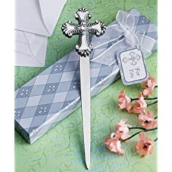 Cross design letter favors, 24