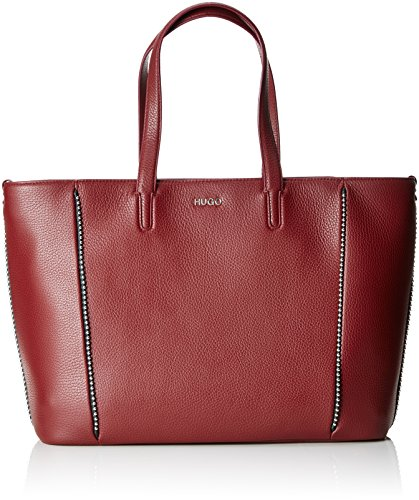 Stud Shopper Mayfair HUGO Dark Rouge Red Cabas E4q0w5x0