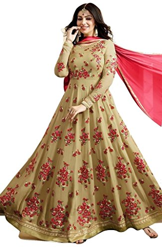 Jay Sarees Most Beautiful Georgette Designer Salwar Suit unstitched -S17001 by JAY SAREES