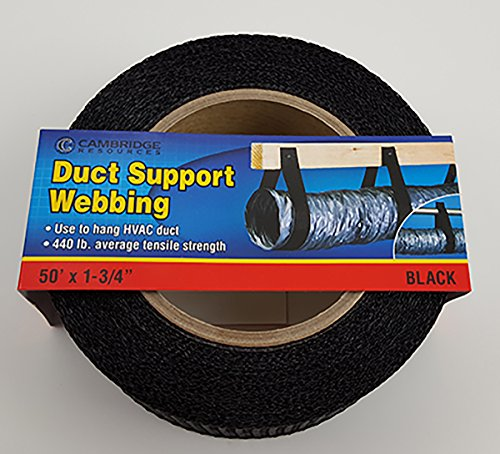 Cambridge Duct Support Webbing 50' x 1- 3/4
