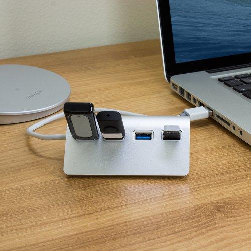 Satechi 4-Port USB 3.0 Premium Aluminum Hub For IMac