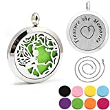elf oil - Kissreason Stainless Steel Fairy Elf Aroma Aromatherapy Essential Oil Diffuser Necklace