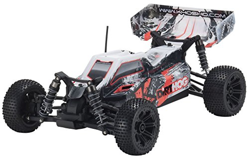 Battery Kyosho (Kyosho Dirt Hog Ready-to-Run RC 4WD Buggy Car with Team Orion Battery & Charger, Red)