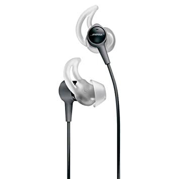 Bose SoundSport Apple Color Negro Auriculares In-Ear