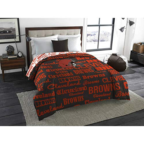 - The Northwest Company NFL Cleveland Browns Anthem Twin/Full Bedding Comforter