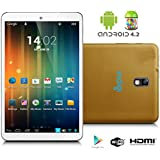 Indigi® 7.0 Android 4.2 Tablet PC Leather Back WiFi Google Play Camera w/ Flash