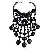 Holylove 2 Color Statement Necklace Women Costume Novelty Fashion Jewelry Gift Box