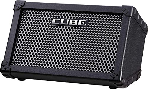 - Roland CUBE Street Battery Powered Stereo Guitar Combo Amp Black (Black)