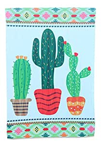 Cactus Garden Flag; 12 inches by 18 inches