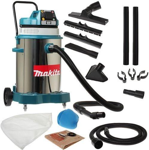Makita 445X - Aspirador 1.350W 50L Inox: Amazon.es: Hogar