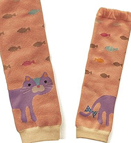 Baby Legs Kitty Cat Leg Warmers Baby Shower Gift Cloth Diaper Accessory Knee Pad Protection