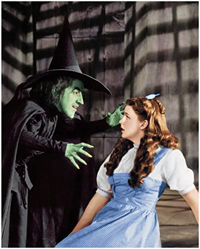 WIZARD OF OZ THE WICKED  WITCH OF THE WEST GOES AFTER DOROTHY 8X10
