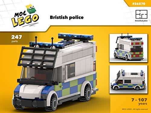 - British police (Instruction Only): MOC LEGO