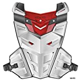 EVS F1 Chest Protector , Primary Color: White, Distinct Name: White, Size: Lg-XL, Gender: Mens/Unisex F1WH-L/XL (ADULT)