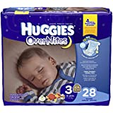 Huggies Overnites Diapers - Size 3 - 28 ct